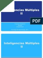 Inteligencias Múltiples II