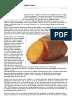 Despre Cartofii Dulci