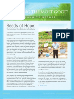 Salvation Army of Greater Philadelphia  Doing the Most Good Community Report Spring 2013