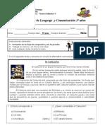 Prueba Nº 3 lenguaje y comunicacion (mitos y leyendas)