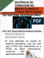 Assistência de Enfermagem ao Paciente com Patologias do Sistema Respiratório