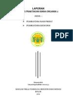 Cover Laporan Praktikum Kimia Organik 2