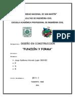 DISEÑO (Funcion y Forma)