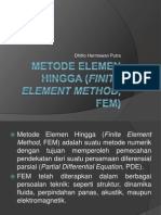 Metode Elemen Hingga (Finite Element Method)