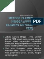Metode Elemen Hingga (Finite Element Method)