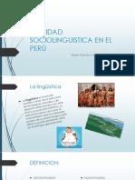 REALIDAD SOCIOLINGUISTICA EN EL PERÚ