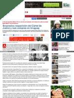 Reaparicion_del_cartel de Juarez en Uruguay