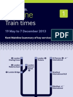 Mainline 1 From 19 May