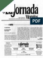 La Jornada Morelos Carta Macario Rosas PDF