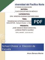 EQUIPO 3.-School Choice  o  Elección de Escuela