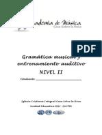 Material Gramatica Nivel 2 - II Semestre_2012
