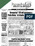 Diario Puntual Francesco Taboada 25 Junio 2012