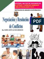 ADM_II. NEGOCIACION Y RESOLUCIÓN DE CONFLICTOS