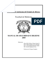 Manual de Seguridad e Higiene 2005