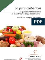 Nutricion Para Diabeticos