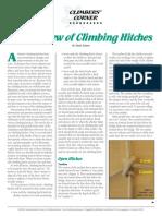 Climbing Hitches