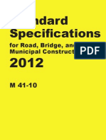 Washington Standard Specifications 2012 WDOTSS2012