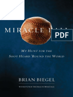 Miracle Ball, by Brian Biegel - Excerpt