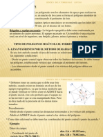 (2) POLIGONACIÓN