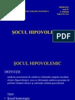 Socul hipovolemic