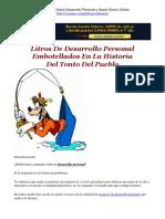 Litros De Desarrollo Personal Embotellados En La Historia Del Tonto Del Pueblo