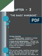 Chapter - 3 the Basic Wardrove -I
