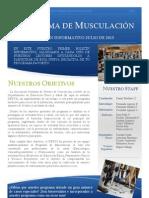Boletin Informativo JULIO 2013