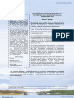 Utilización de Bacterias heterotróficas y autotróficas en la acuacultura