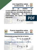 4.9 y 4.10 Fuerza Magnetica Sobre Conductores