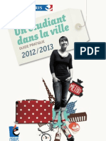 Un Etudiant Dans La Ville 2012 2013 Version PDF