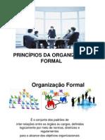 Apresentacao Principios Da Organizacao Formal Para Estudantes