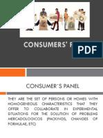 Panel de Consumidores