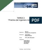 Entrevista Ingeniero Mecánico