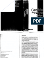 Gestion de Proyectos PDVSA - Cartay
