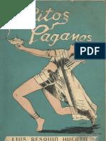 RITOS PAGANOS - LUIS RESQUIN HUERTA - ASUNCION 1949 - PORTALGUARANI