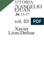 Leon-Dufour, Xavier -Lectura Del Evangelio de Juan, Tomo III