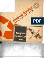 Revista Nueva Lucha PSP-MPI Numero 6 año 1973