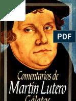 Martin Lutero Comentario de Galatas