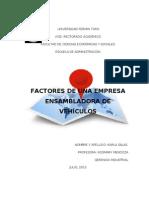 Factores de Localizacion