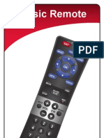 Dish Network Remote Codes and Manual