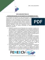 Declaración_FENEECh_julio_2013