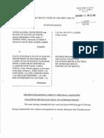 Kalima v State - HIFO Decision