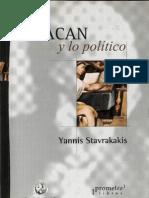 78950815 Stavrakavis Yannis Lacan y Lo Politico