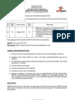 LPSC Recruiting Civil Engineers