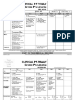 Clinical Pathways Severe Pneumonia