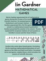 Gardner Poster Mathematical Games