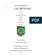 Diagnostic Approach MUAL MUNTAH
