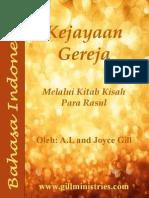 Indonesia - Kejayaan Gereja
