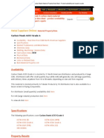 A333 Grade 6 Carbon Steels Material Property Data Sheet - Product Availability and Request a Quote