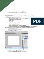 gradient assignment